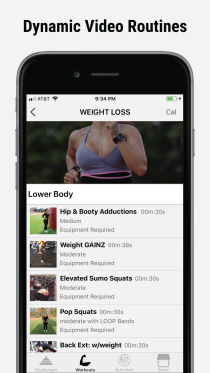 Bodied App Workout Videos