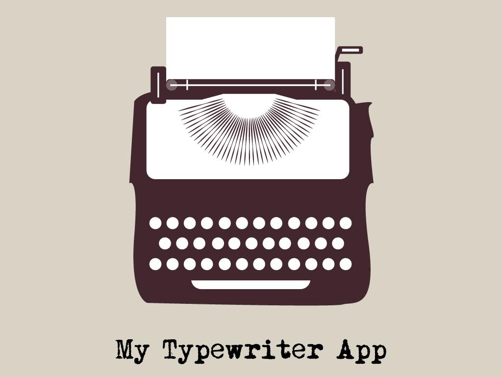 My Typewriter App Logo