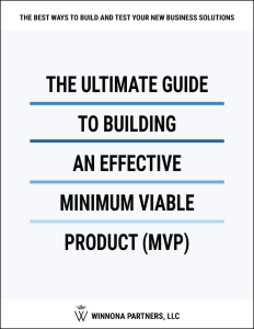 The Ultimate Guide to Building an Effective Minimum Viable Product (MVP) Software Resource Cover